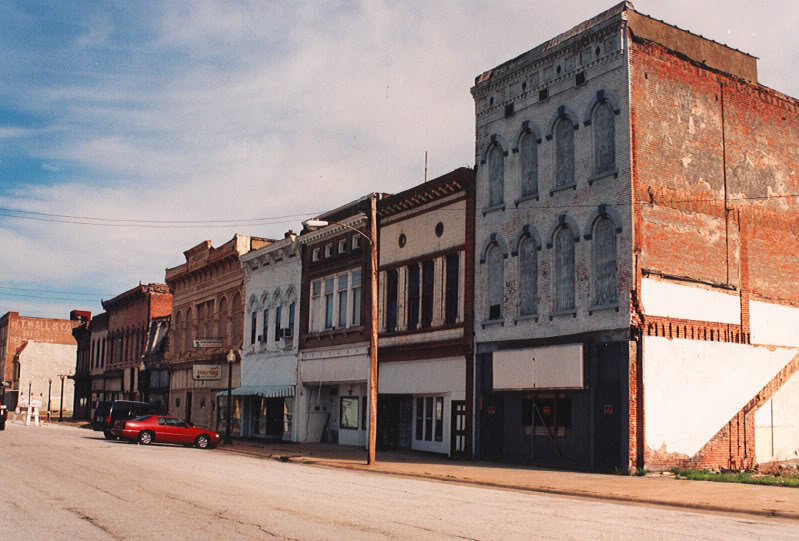 Abandoned-midwestern-town
