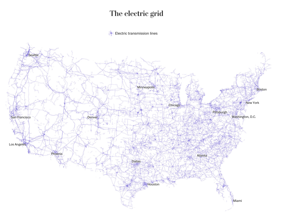 These Maps Show The Future Of The US Economy Through - Future map of us