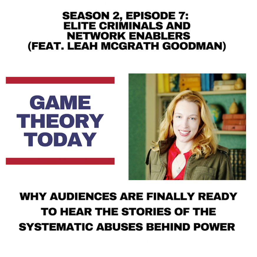 Leah McGrath Goodman podcast Jersey offshore finance child abuse Queen of England Coutts